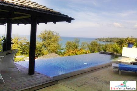 Sea view four-bedroom house for rent in Surin, close to Surin Beach