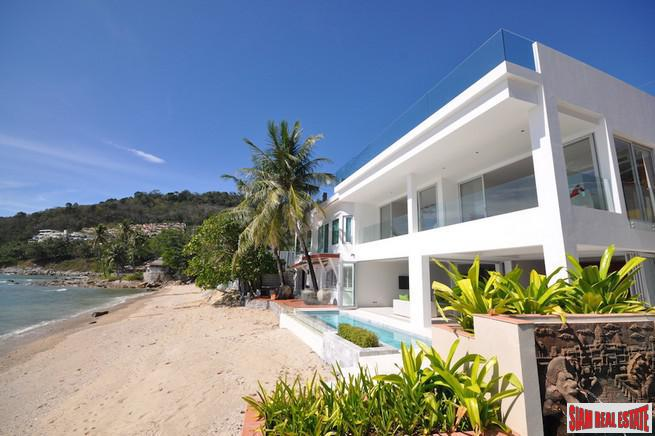 Kalim Beach House | Unique Modern Beach Front Pool Villa for Sale
