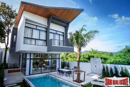 Modern and Elegant Houses for Sale in New Development at Rawai/Nai Harn