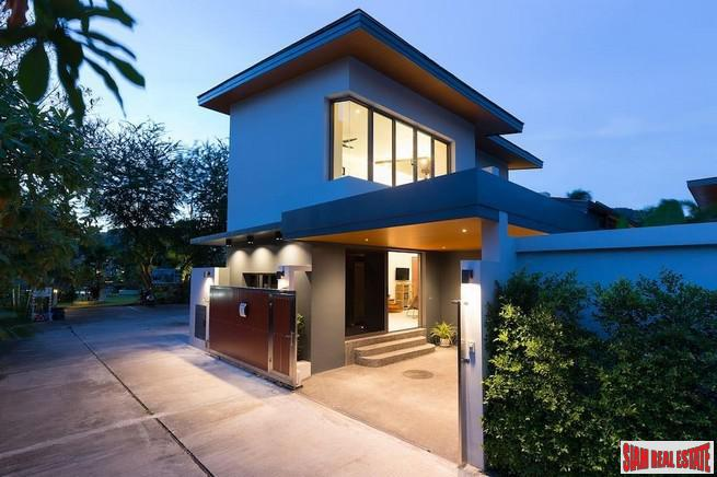 Luxury Two-Bedroom House for Sale in New Development in Rawai