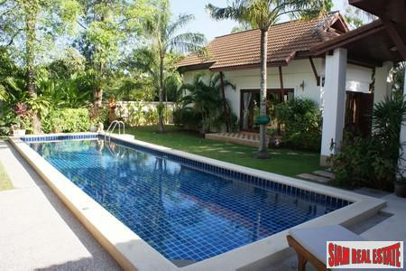Tropical Balinese Three-Bedroom House for 12