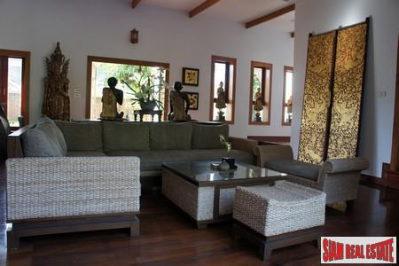 Tropical Balinese Three-Bedroom House for 13