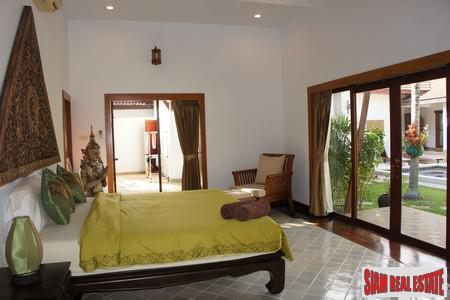 Tropical Balinese Three-Bedroom House for 5