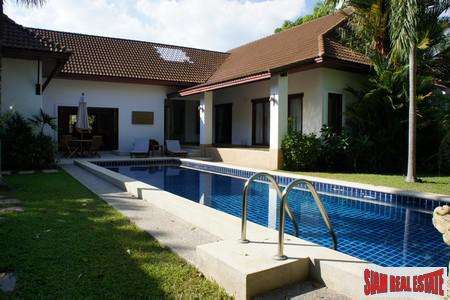 Tropical Balinese Three-Bedroom House for 8