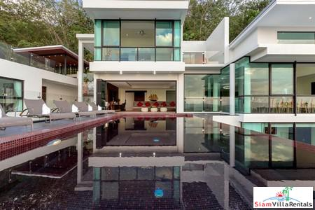 Sea View Luxury and Spacious Seven-Bedroom House for Rent in Bang Tao