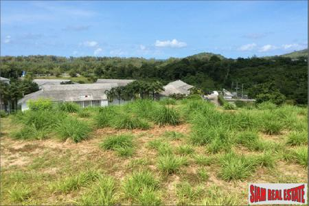 Hillside Seaview Land for Sale in Layan
