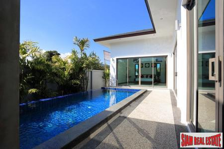 Contemporary Two-Bedroom Private Pool House for Sale in Rawai