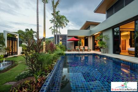 Villa Nadya | Elegant Three-Bedroom House with Private Pool and Thai Style Garden for Holiday Rental in Nai Harn