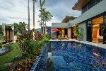 Elegant Three-Bedroom House with Private Pool and Thai Style Garden for rent in Nai Harn