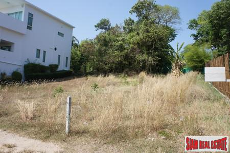 Inland Land for Sale in Rawai Located on a Slight Hill with Possibility of Sea Views