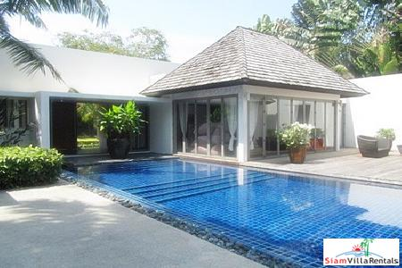 Modern and Elegant Four Bedroom Villa for Rent in Layan