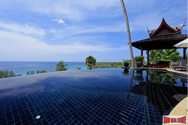 Sea View Private Pool Four Bedroom House for Sale in Surin