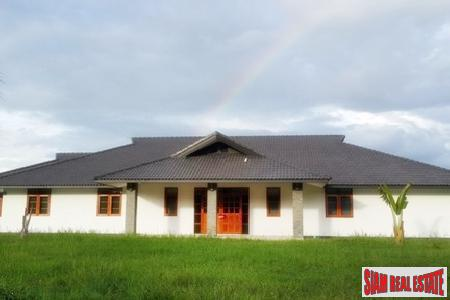 Brand New House with Lake on Large Resort Style Plot in Mae Rim