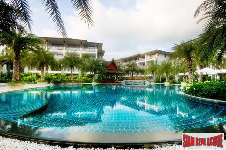On Beach Elegant Four-Bedroom Condo for Sale in Nai Thon