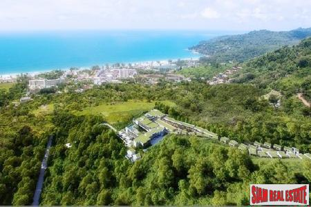 Sea and Mountain View Elegant Condos and Villas for Sale in New Development in Karon
