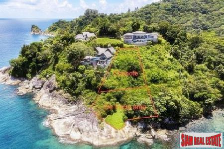 Premium Ocean Front Residential Estate Land Plot for Sale in Patong