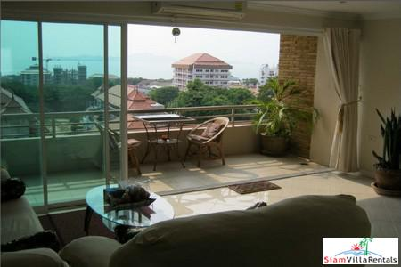Nice Seaview 1 Bedroom 82 Sq.m. on Pratumnak Hills Close to Cozy Beach Pattaya