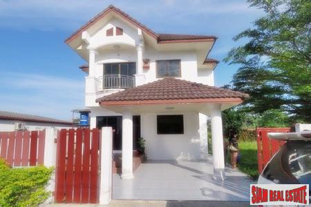 Three-Bedroom House for Sale in Thalang with Large Garden