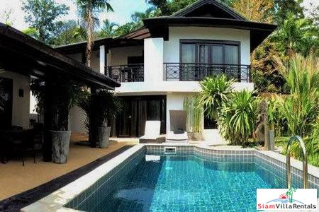 Elegant Five-Bedroom Private Pool House for Rent in Chalong