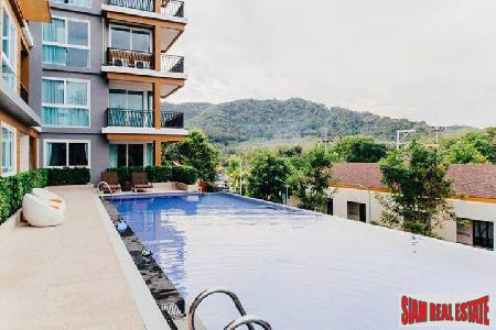 Panoramic Mountain View Modern and Elegant One-Bedroom Condo for Sale