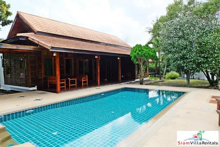 Luxury and Spacious Three-Bedroom House for Rent in Bang Tao