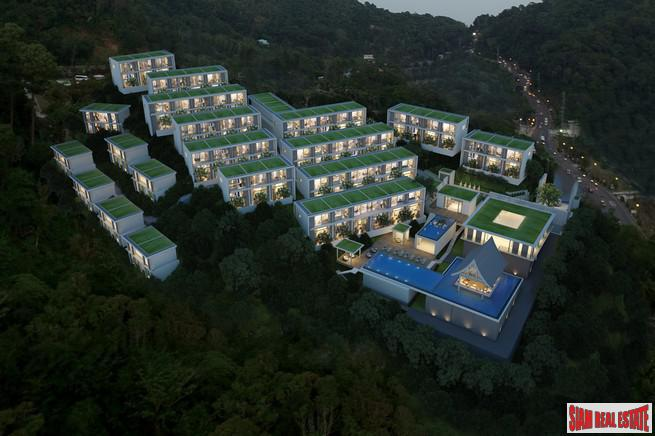 Sea View Luxurious and Modern Condos for Sale in New Development in Patong