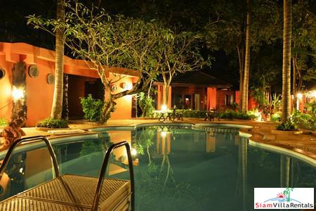 Rustic and Elegant Two-Bedroom Villa For Rent in Maenam