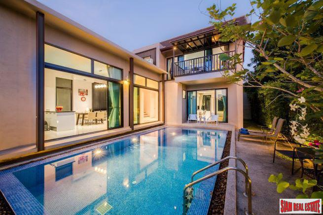 Phuree Sala | Three Bedroom Thai-Modern Pool Villa for Rent in Bang Tao