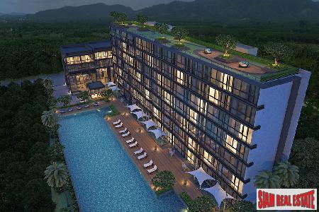Modern and Luxurious Two and Three-Bedroom Condos for Sale in New Development in Nai Yang
