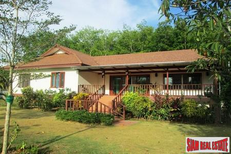 Modern and Spacious Three-Bedroom Large Garden House for Sale in Ao Nang