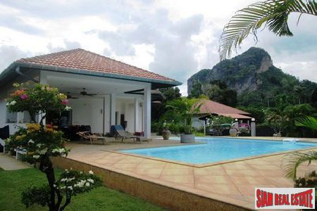 Mountain View Three-Bedroom Private Pool for Sale in Ao Nang