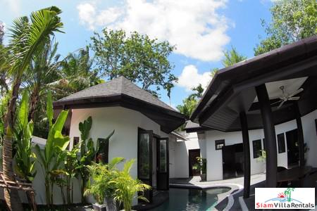 Modern and Elegant Three-Bedroom Private Pool House for Rent in Chalong