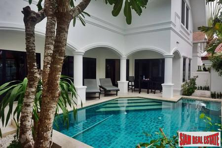 Excellent value house with pool at na jomtien