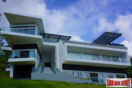 Modern, Luxurious Five-Bedroom Sea-View Villa Near Mission Hill