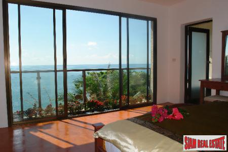Beautiful Cliff Top Sea View Villa in Koh Lanta