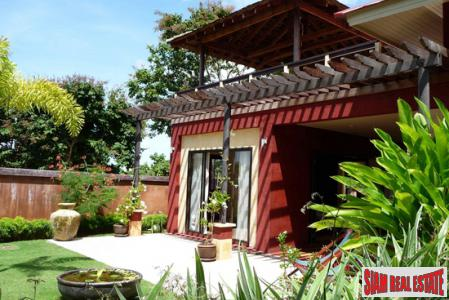 Bali Style Sea View Villa located on Koh Lanta