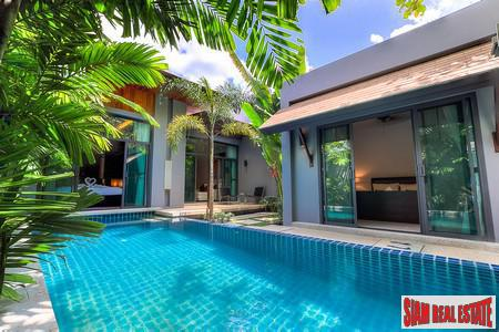 Modern Onyx Style Pool Villa for sale in Rawai