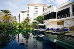 Walk to the Beach from this Luxurious one bedroom Sea View apartment in Karon