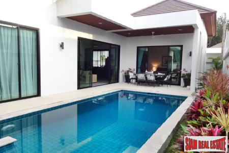 Secluded Three Bedroom Pool Villa For Sale in Rawai