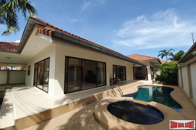 Lowest Price 3 BRs Pool Villa For Rent in Jomtien for Min. 1 Year Contract