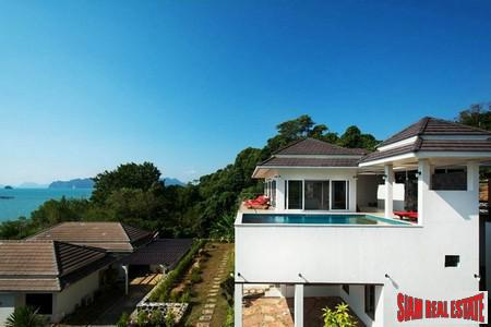Fantastic Sea Views from this Beautiful Pool Villa in Khao Thong Krabi