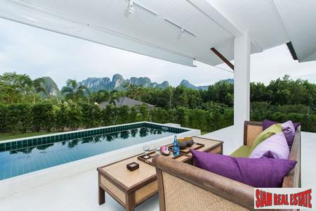 Amazing 6 Bedroom Luxury Compound with 3 Pool Villas in Peaceful Krabi