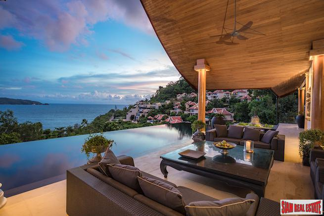 Villa Baan Jai Neam | Elegant Lifestyle Living and Unobstructed Sea Views in Scenic Kalim