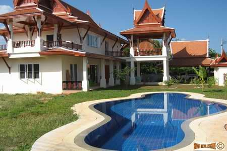 Eye catching traditional Thai home in Rawai