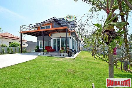 Unique Design and Beautiful Mountain Views from this Home in Hua Hin