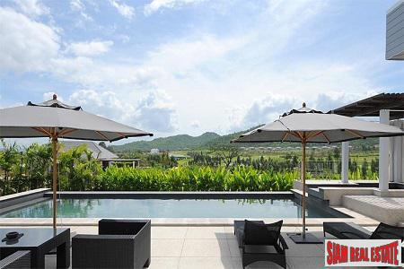 Fabulous Mountain Views from this Peaceful and Serene Pool Villa in Hua Hin