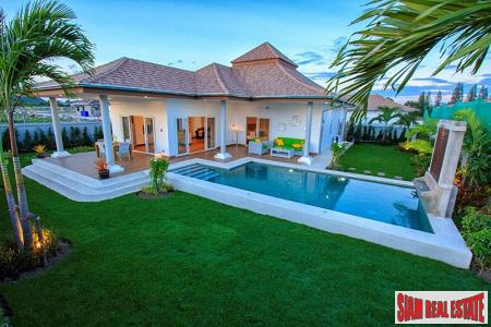 Beautiful New Pool Villas with Stunning Views only 5 km From the Beach In Hua Hin