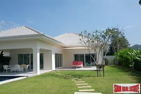 Great Villas for Sale in Hua Hin  3, 4 or 5 bedrooms & Private Pool