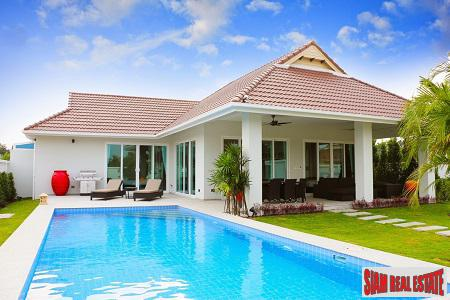 Stunning Pool Villas for Sale Only 7 KM West of Hua Hin City Center