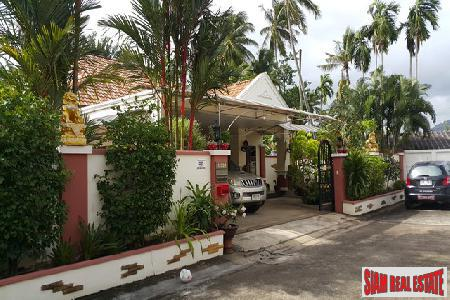 One of a Kind Secluded and Tropical Home in Thalang